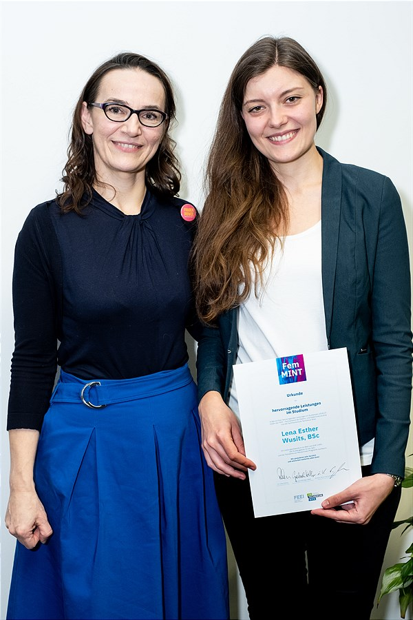 FemMINT-Award an Lena Esther Wusits
