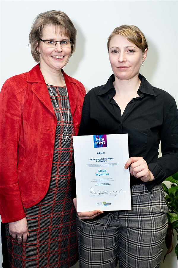 FemMINT-Award an Stella Wyschka